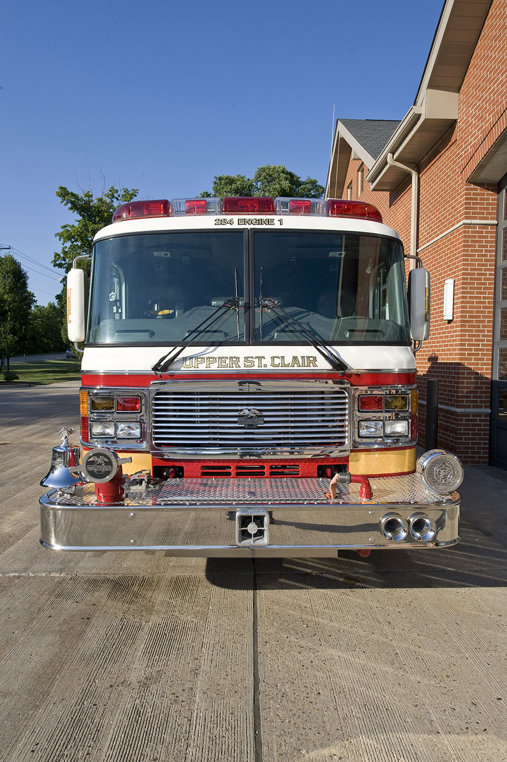 USCVFD 284 Engine 1 Front View